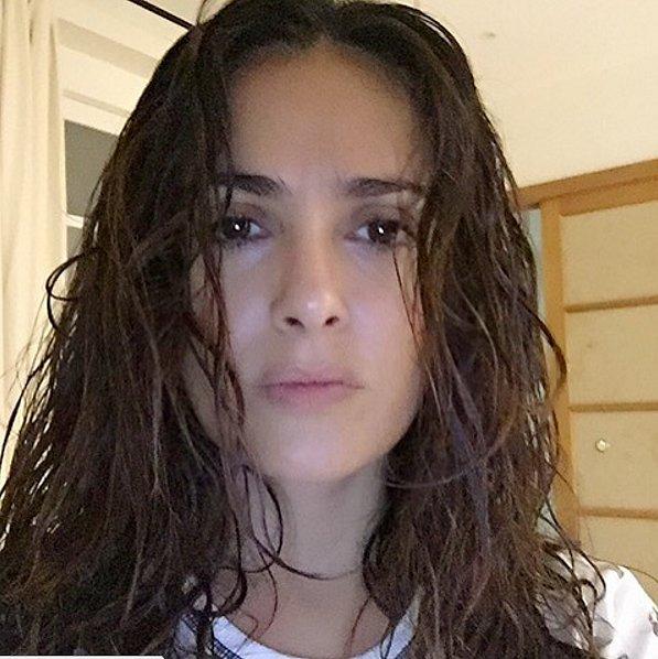 Актриса Сальма Хайек, 49