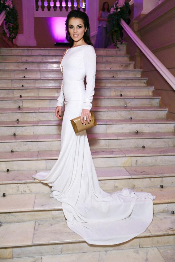 Сати Казанова в платье Tony Ward