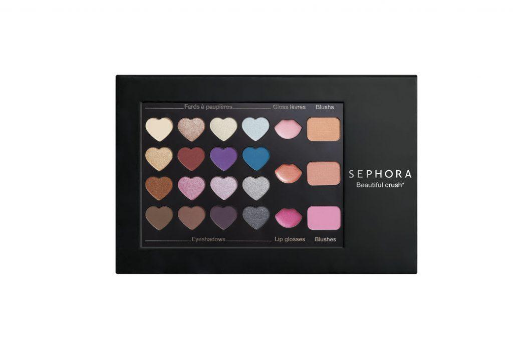 Палетка Sephora Beautiful Crush Palette - 1199 р.