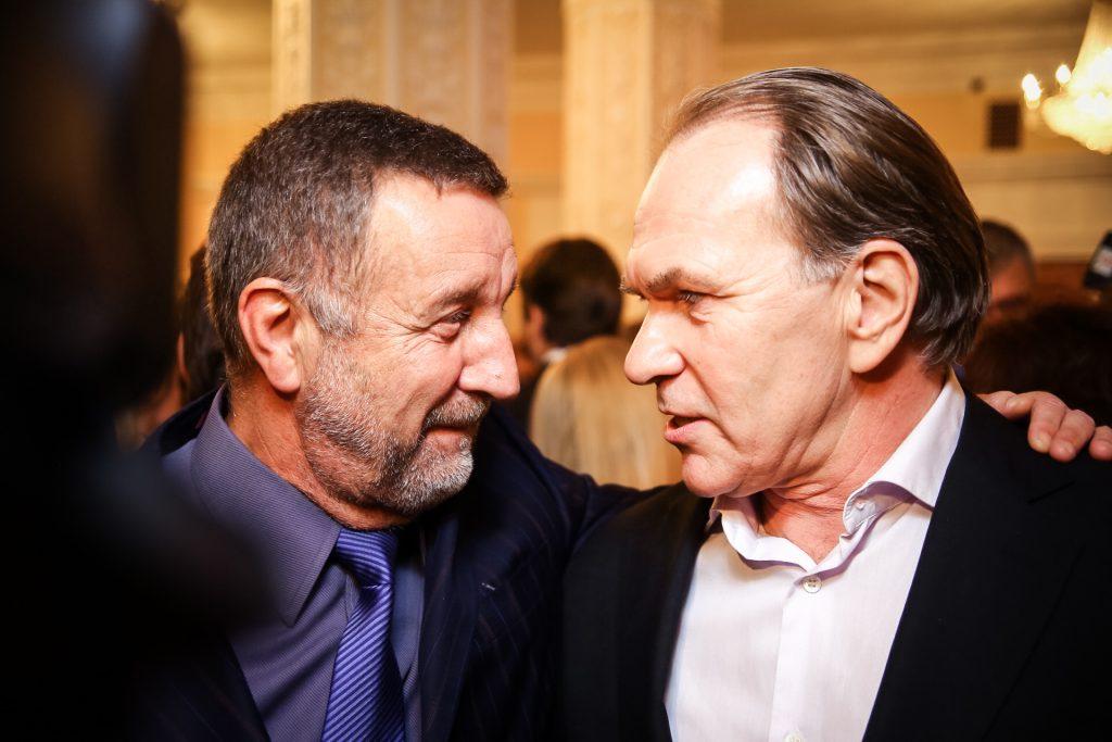 Леонид Ярмольник и Алексей Гуськов