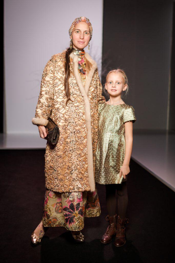 Ольга Томпсон с дочкой