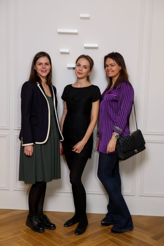 Анна Зейман, Полина Волкова и Ольга Флер