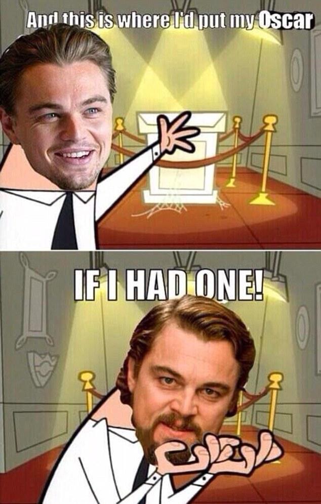 Здесь будут стоять награды Лео. Если он получит хотя бы один «Оскар»...
