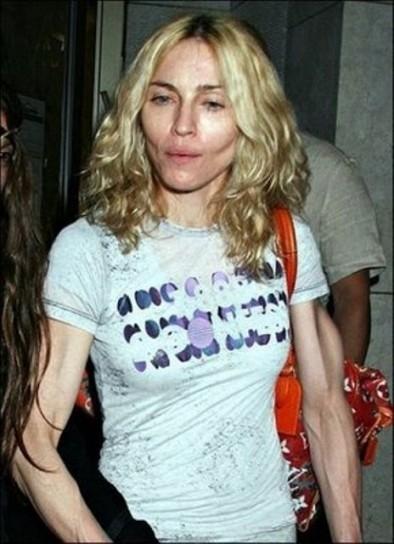 Порой кажется, что на теле Мадонны (57) можно рассмотреть каждую жилку.