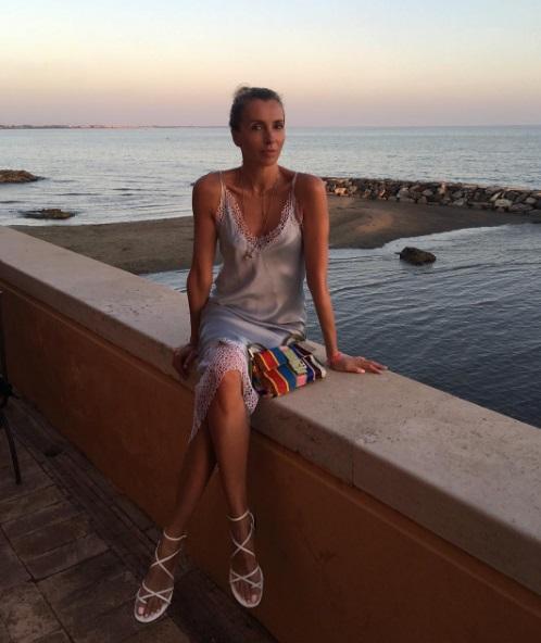 Светлана Бондарчук отдыхала в Италии