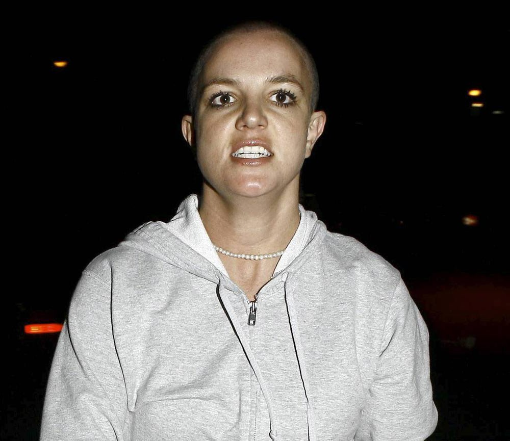 Есть фотографии Бритни, которые хочется развидеть. Как хорошо, что те времена прошли