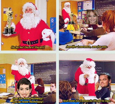 Даже Санта не удостоил Лео наградой...