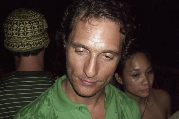 Мэттью Макконахи (46) не дебоширит, когда выпьет, а просто предается меланхолии