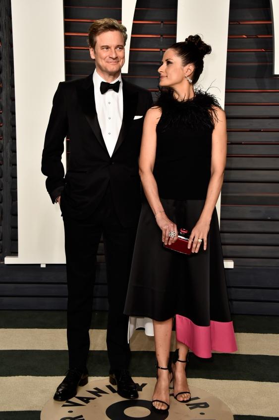 Колин и Ливия Ферт