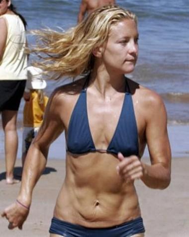 Все помнят этот снимок Кейт Хадсон (36). С тех пор она пришла в форму и сейчас выглядит намного лучше
