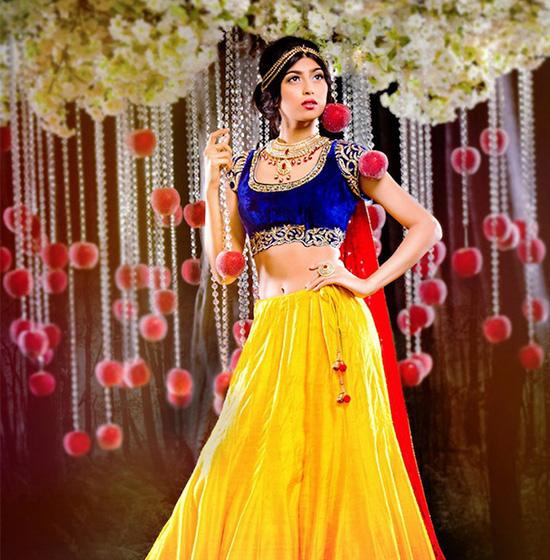 Индийские невесты в образе диснеевских принцесс - PEOPLETALK