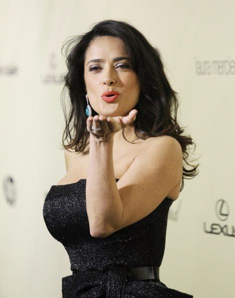 Сальма Хайек (49)