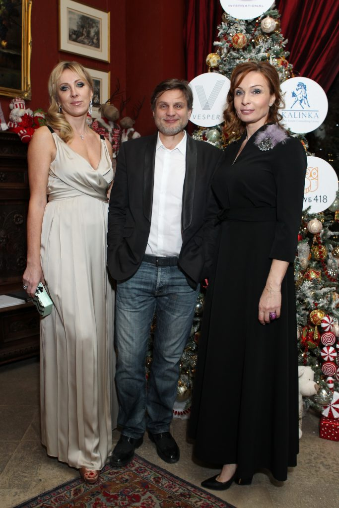 Екатерина Румянцева (Kalinka Group) и Андрей Гринев