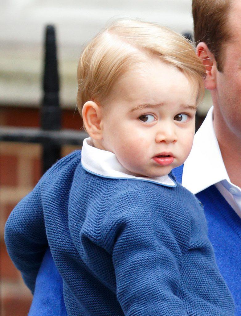 время последние фото принца джорджа кембриджского это просто городок