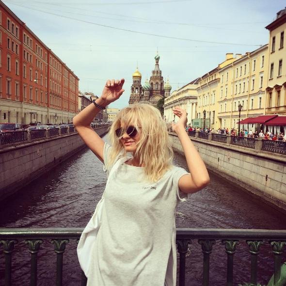 Полина Максимова признавалась в любви Петербургу