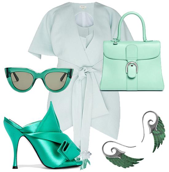 промо-зеленый