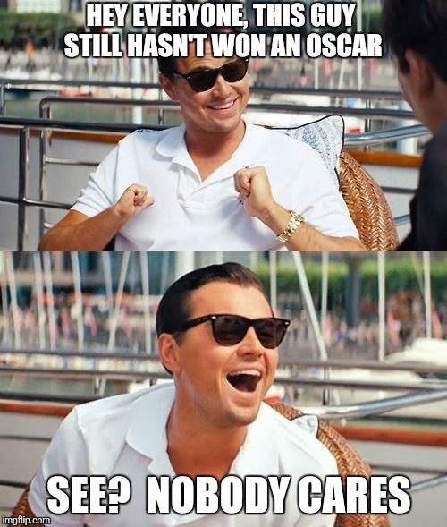 Никого не волнует, что у Лео до сих пор нет «Оскара»