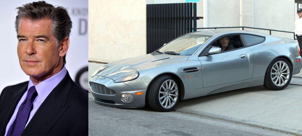 Пирс Броснан (62) Aston Martin Vanquish