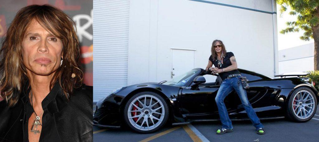 Стивен Тайлер (67) Hennessey Venom GT Spyder