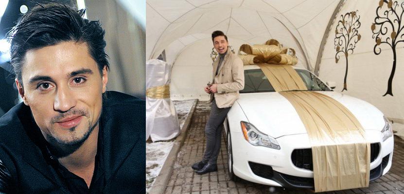 Дима Билан (33)  Maserati Quattroporte