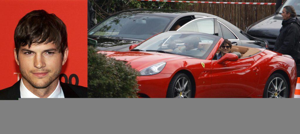 Эштон Кутчер (37)  Ferrari California