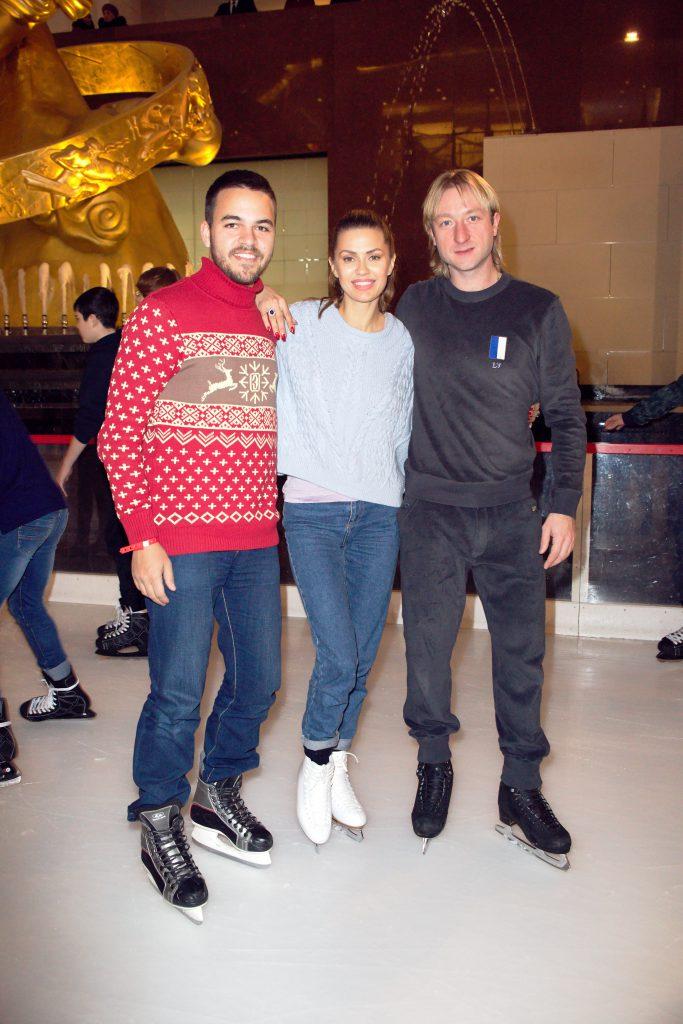 Сергей Афанасьев, Виктория Боня, Евгений Плющенко