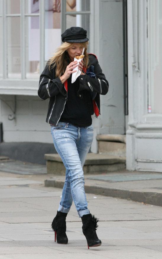 Супермодель Кейт Мосс (42)