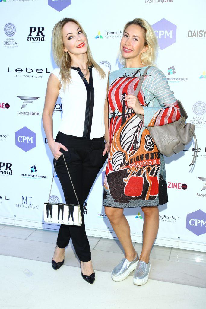 Ирина Медведева и Анастасия Гребёнкина