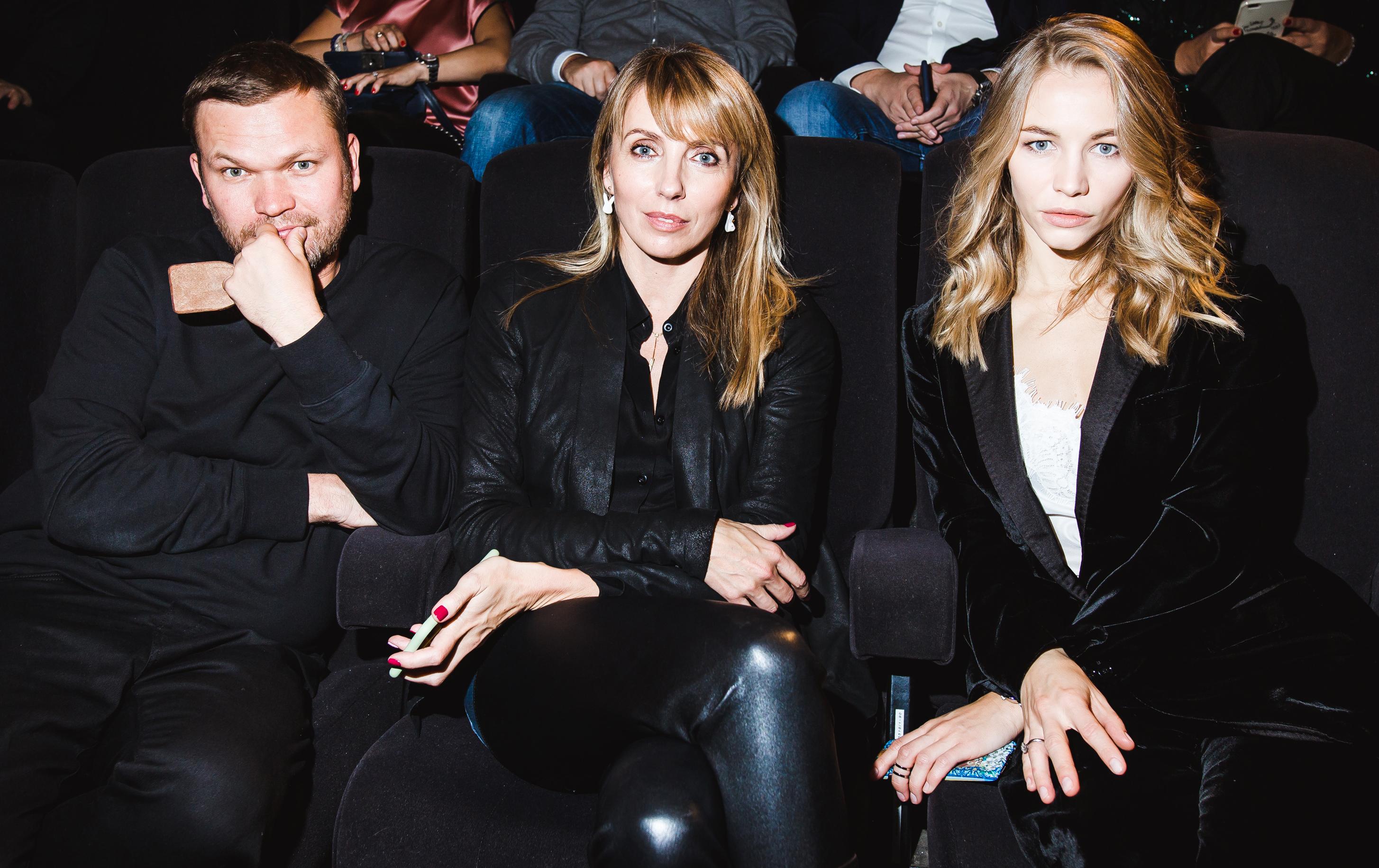 Алексей Киселев, Светлана Бондарчук и  Светлана Устинова