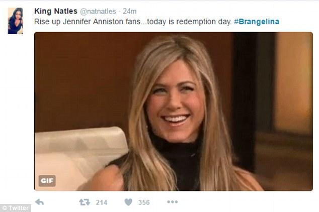 Для всех фанатов Дженнифер Энистон сегодня пришло отмщение!