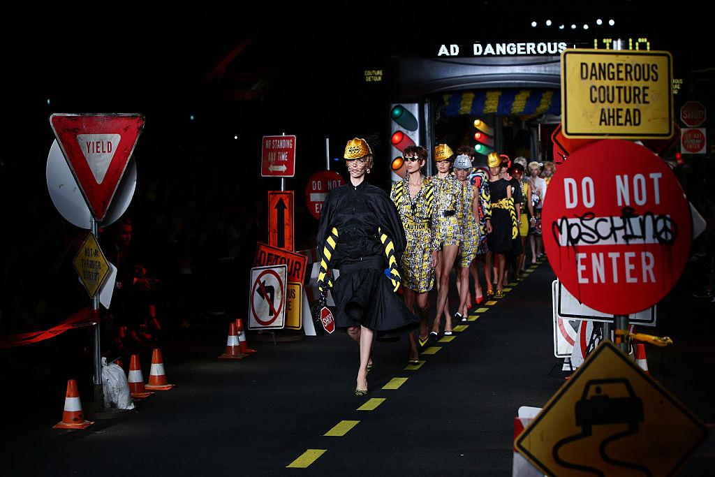 Moschino - Runway - Milan Fashion Week SS16