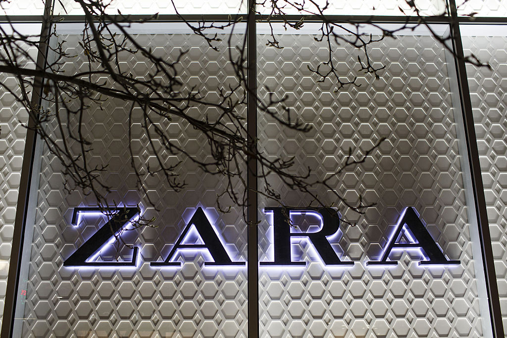 Spanish Retail At Zara Store As Spain Ahead Of Sunday's Election