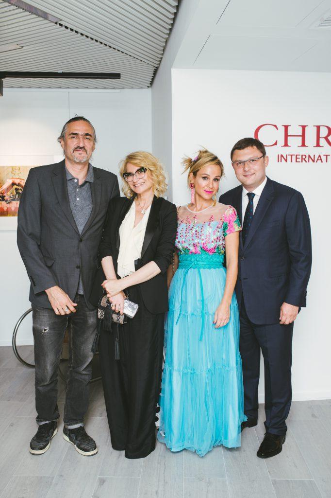 Дмитрий Семаков, Эвелина Хромченко, Кира Сакарелло и Василий Церетели