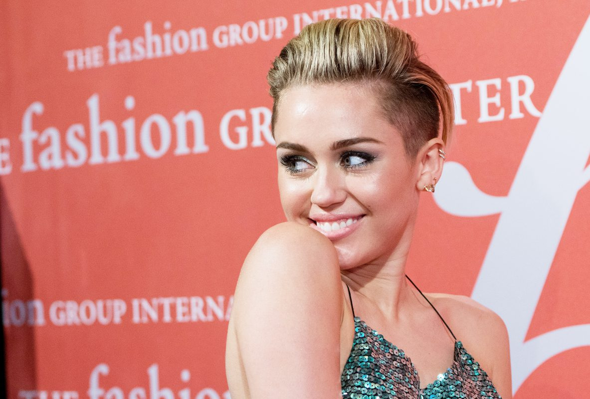 — NEW YORK, NY - OCTOBER 22:  Miley Cyrus attends the 30th Annual Night Of Stars presented by The Fashion Group International at Cipriani Wall Street on October 22, 2013 in New York City.  (Photo by Dave Kotinsky/Getty Images)