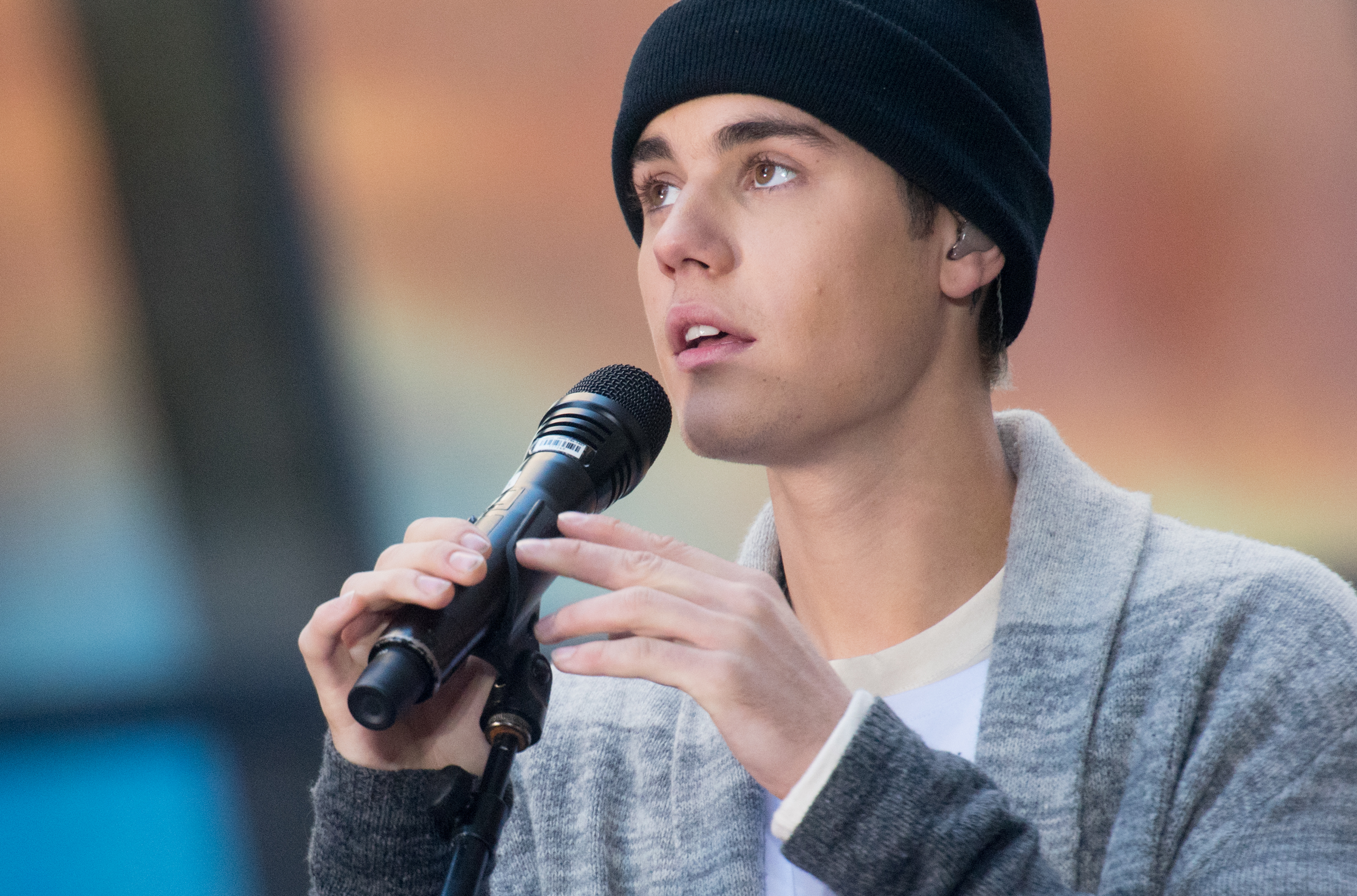 Justin Bieber Performs On NBC's