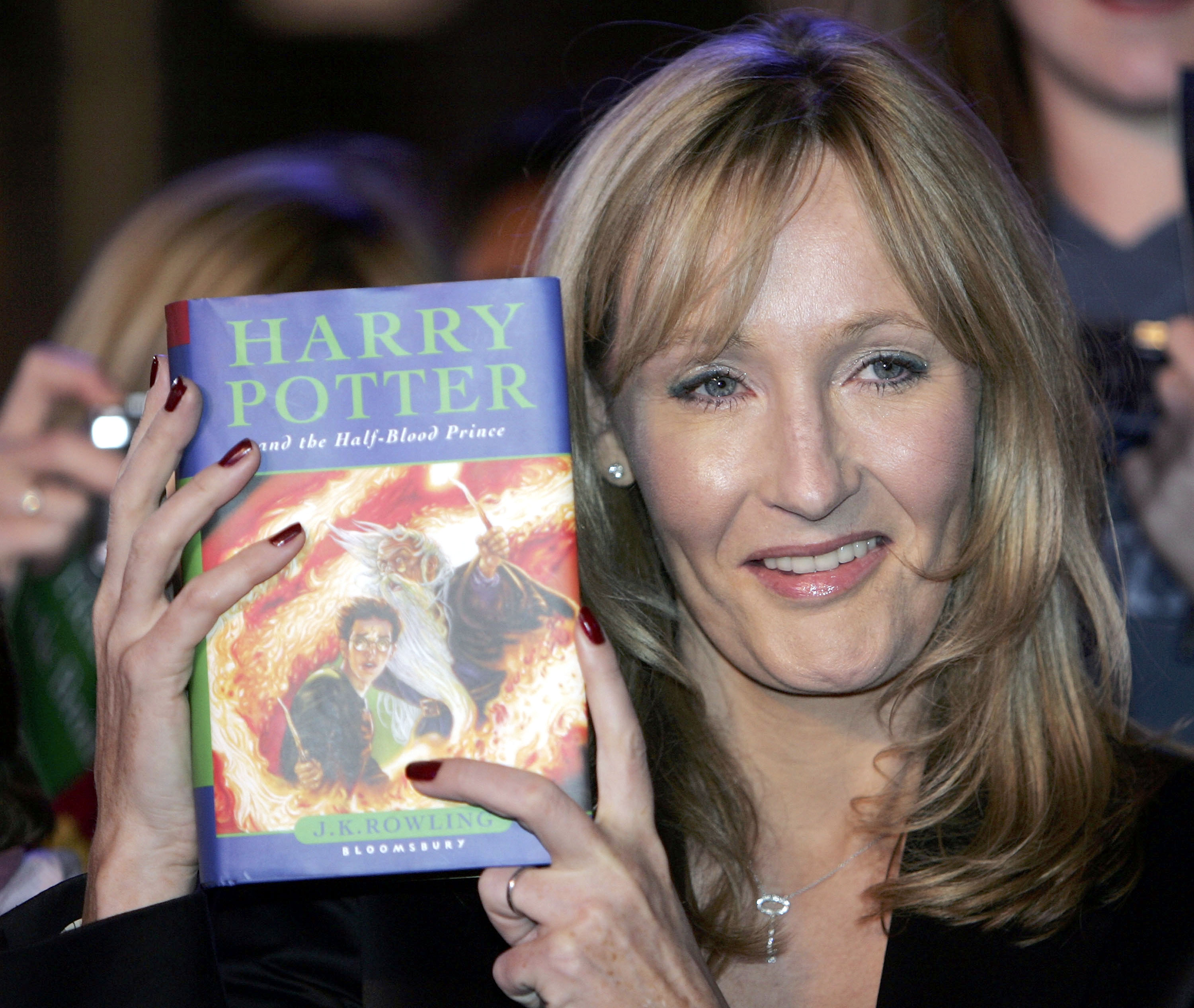 J K Rowling Reads From New Harry Potter Book