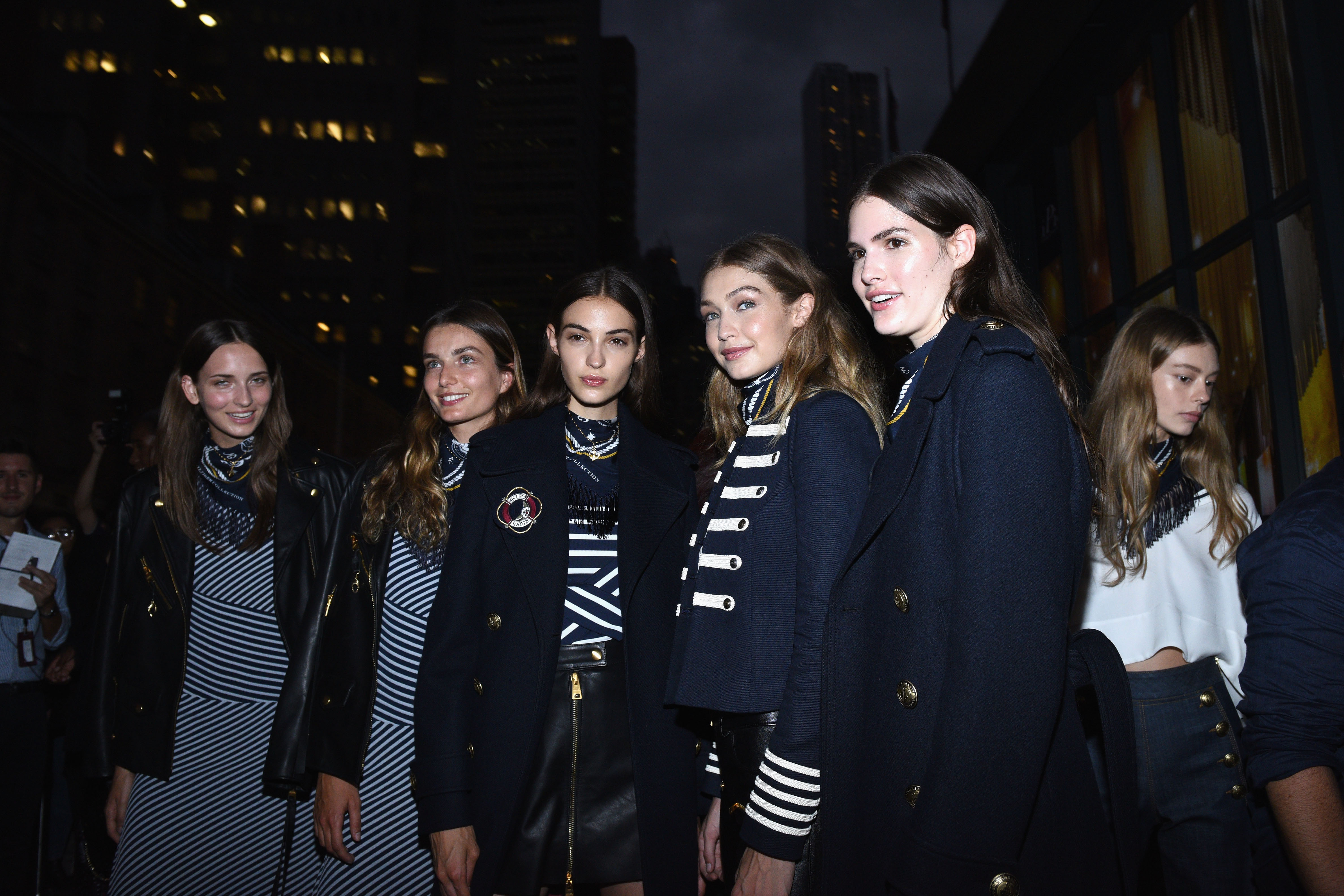 #TOMMYNOW Women's Runway Show Fall 2016 - Front Row