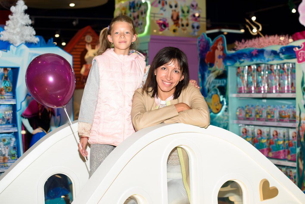 Елена Борщева с дочкой