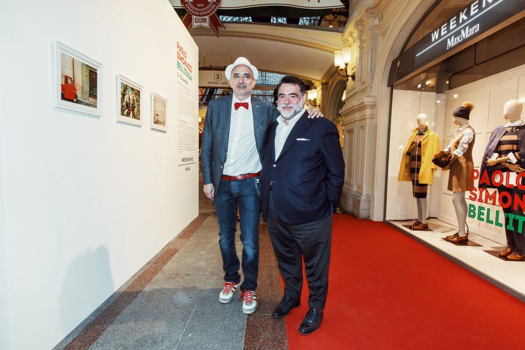 Паоло Симонацци и Михаил Куснирович