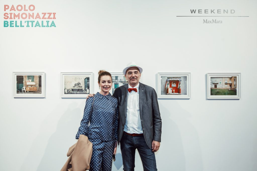 Татьяна Геворкян и Паоло Симонацци