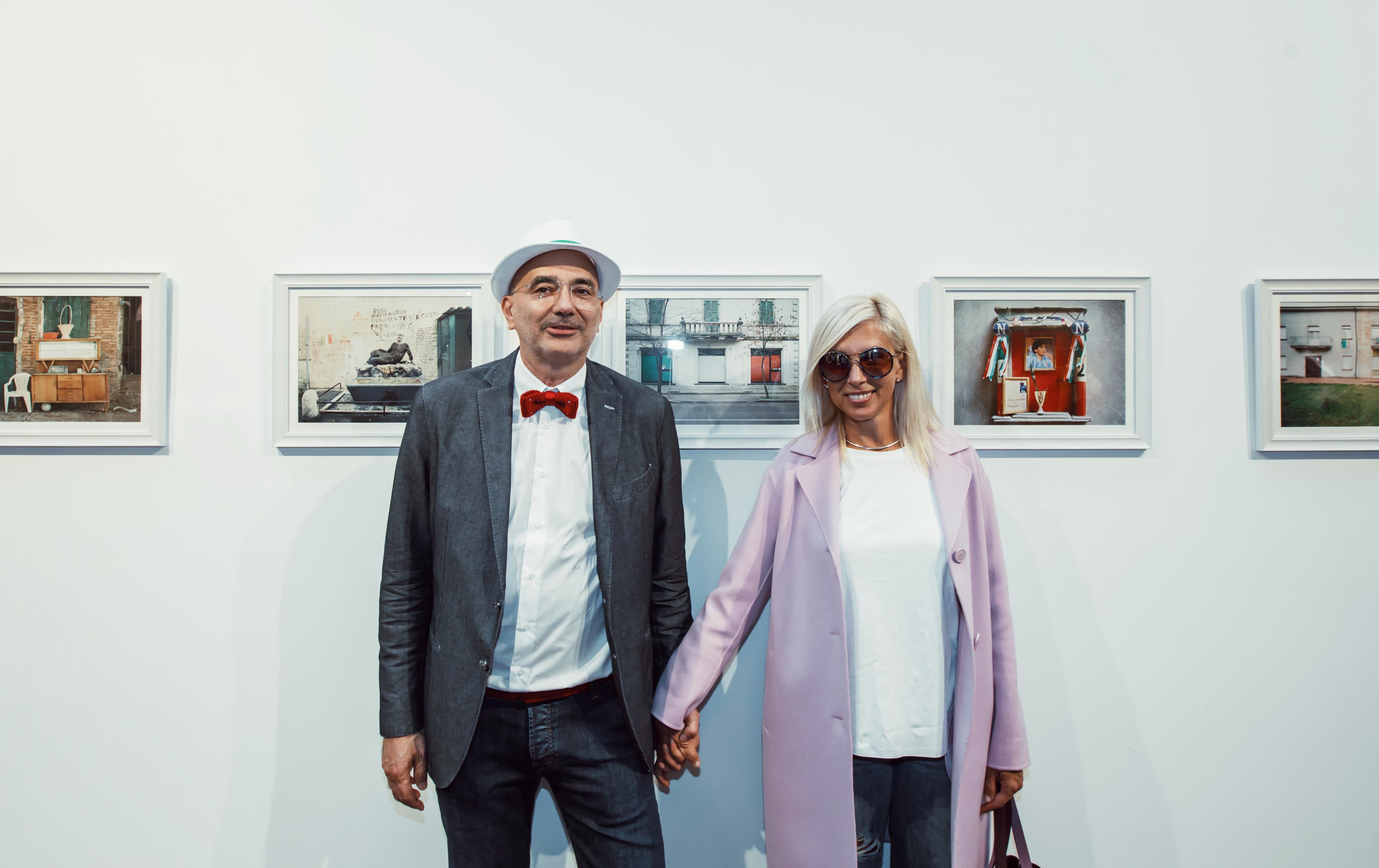 Паоло Симонацци и Алена Свиридова