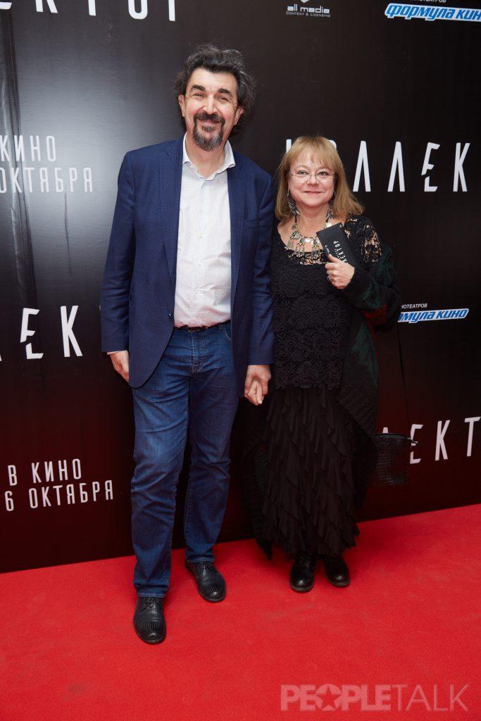 Игорь Золотовицкий и Вера Харыбина