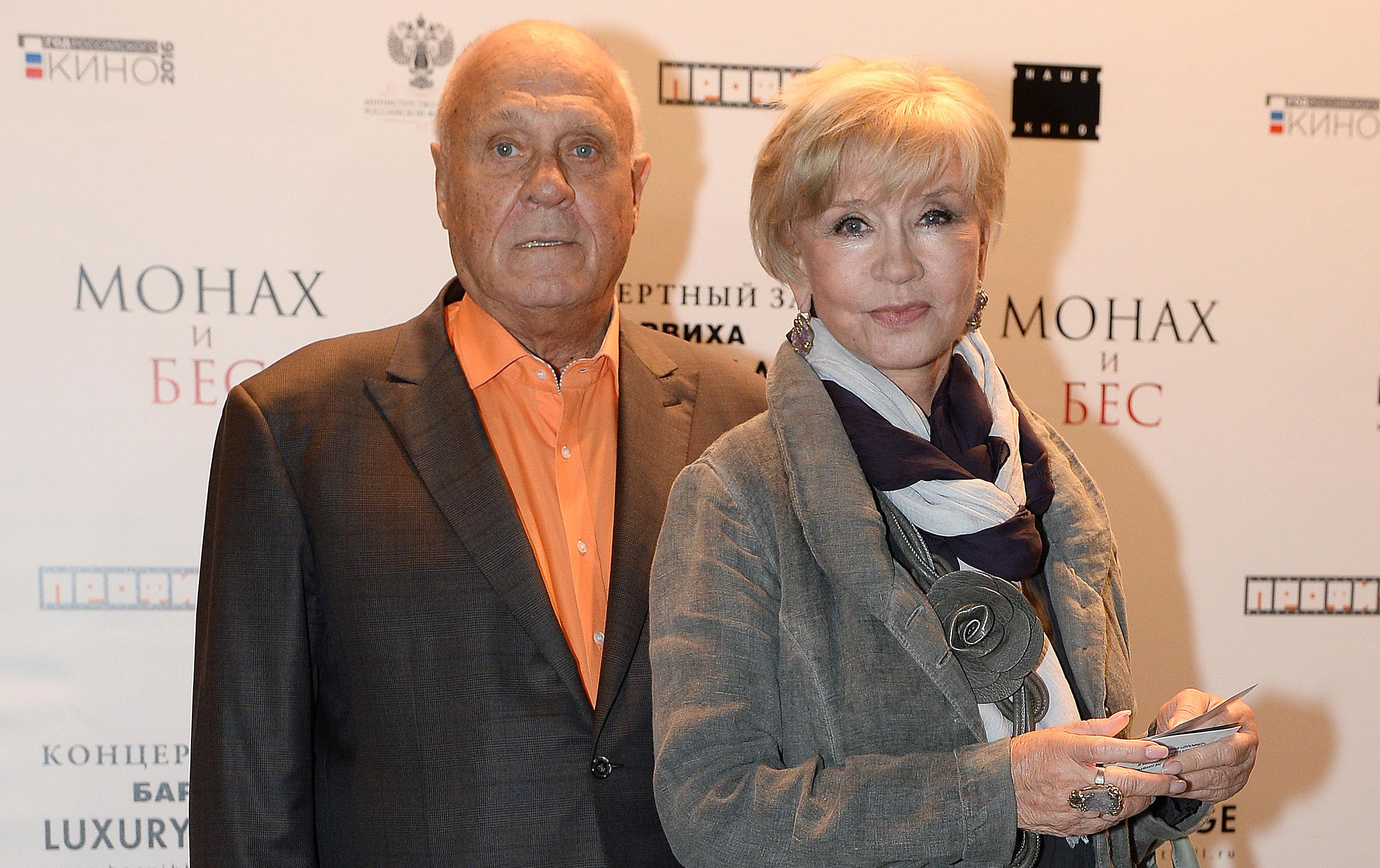 Владимир Меньшов и Вера Алентова