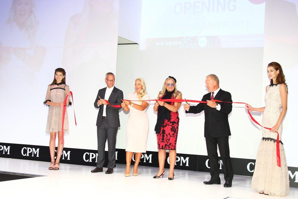 Открытие выставки CPM