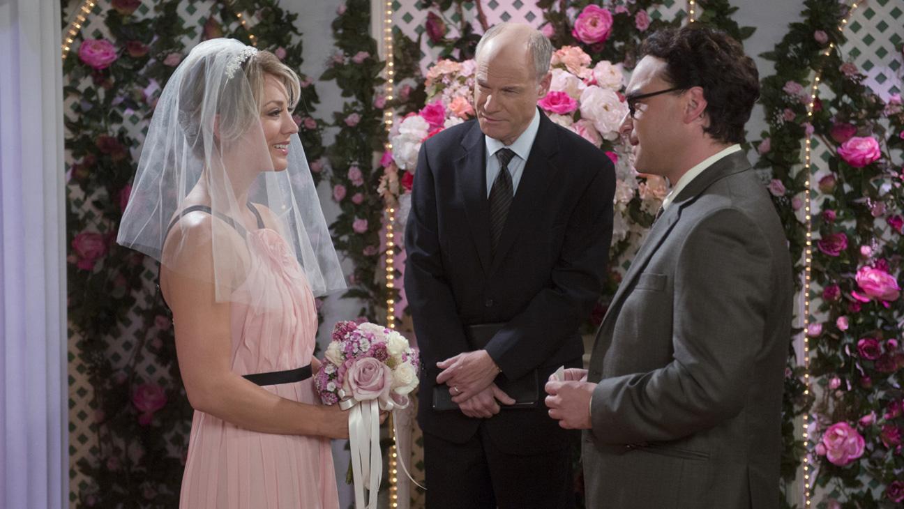 Пенни и леонард свадьба серия