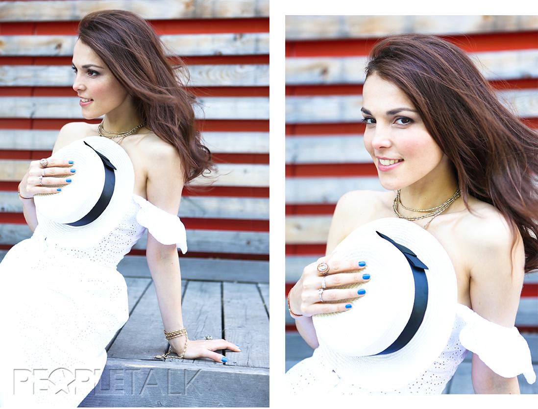 Сарафан, Galina Podzolko; шляпа, MDWS