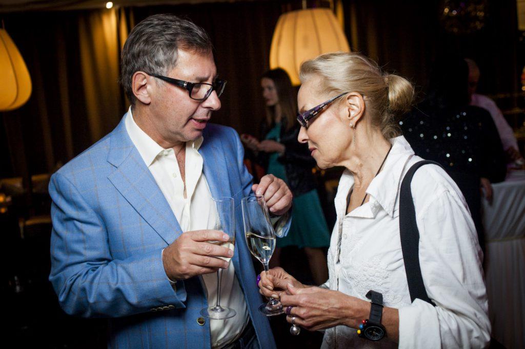 Петр Авен с Ольгой Свибловой