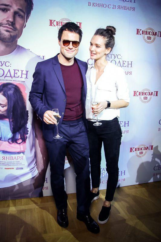 — Данила Козловский и Паулина Андреева
