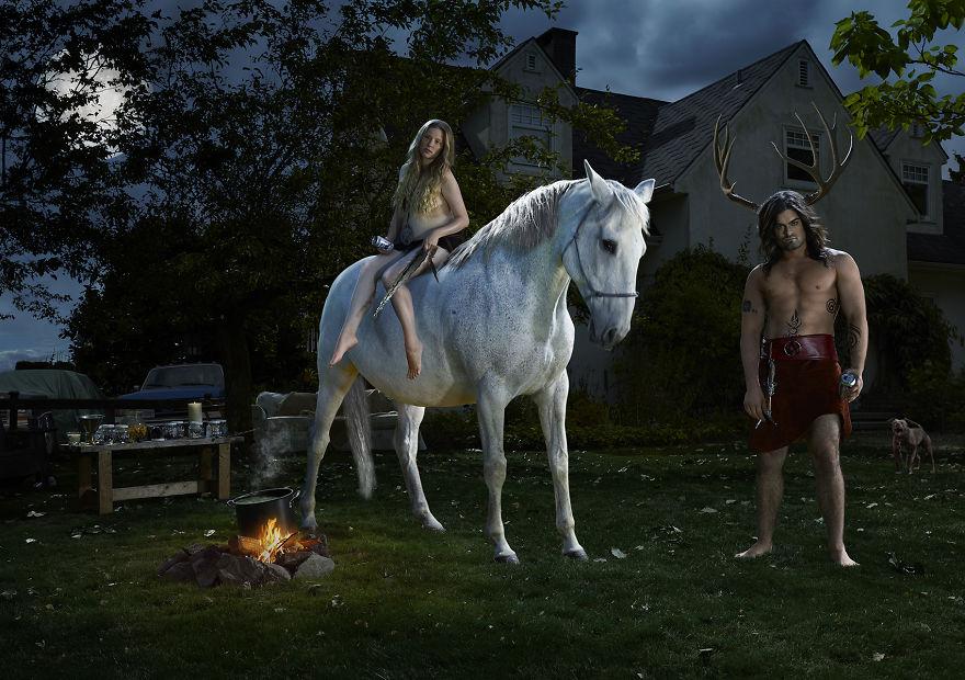 Викка - Рогатый Бог и Богиня Луны