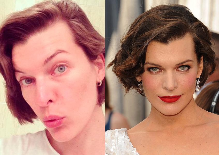 первый солнца без макияжа фото до и после звезды отказываю, если